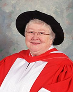 2015 Recipient of the CFPC-Scotiabank Lectureship Sister Elizabeth Davis