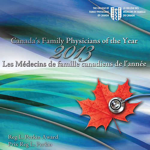 2013 Canada's Family Physicians of the Year