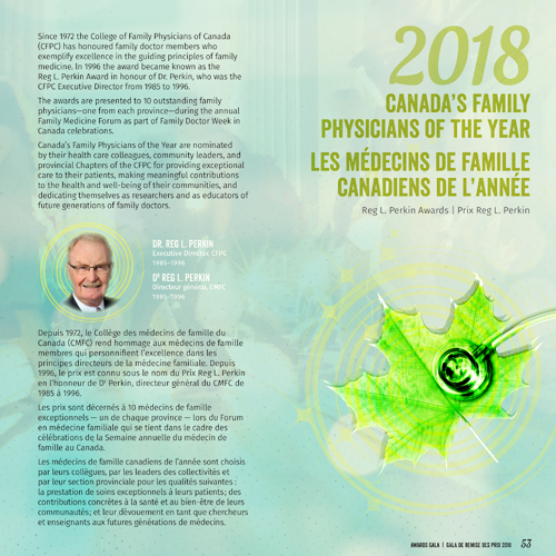 2018 Family Physician of the Year